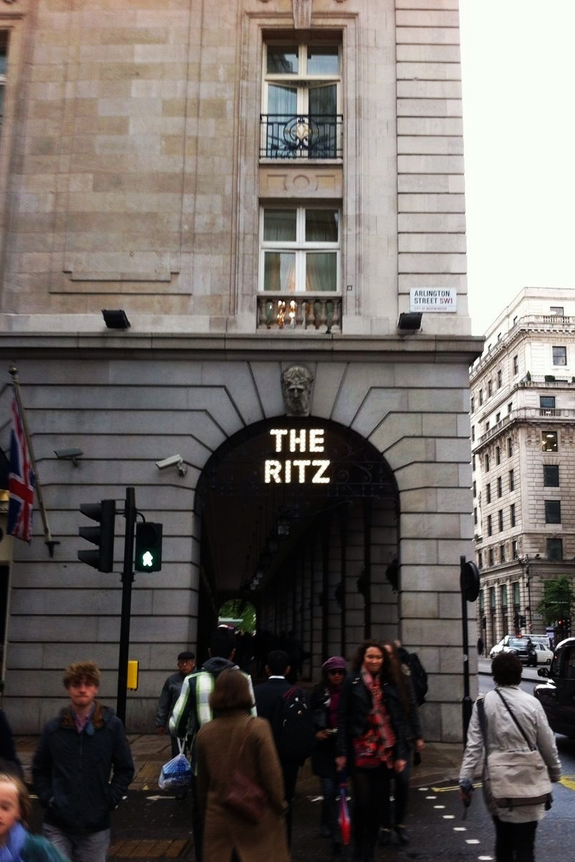 I chanced upon The Ritz which appears in the final chapter of  Hunter: Intrepid 2 .