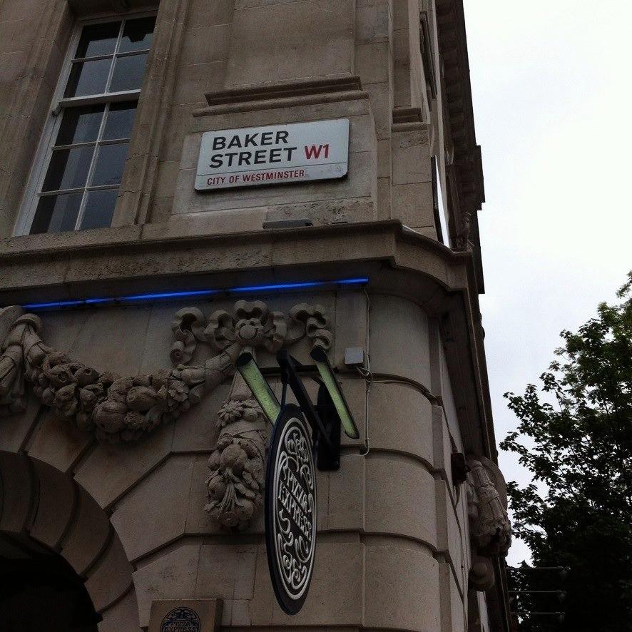 Enjoying being in Conan Doyle territory.