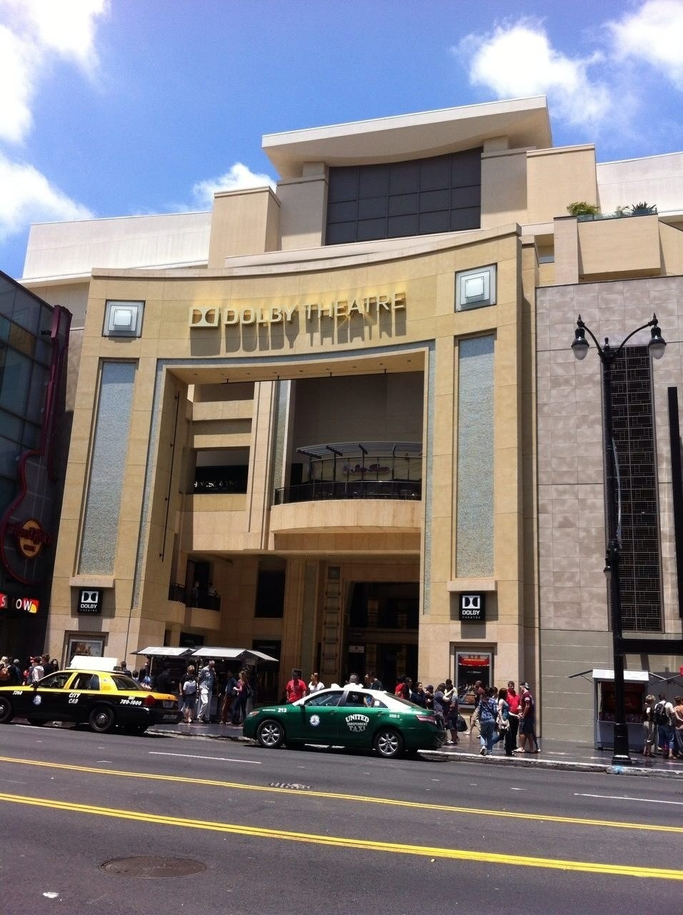 Here's the Dolby Theatre, formerly known as the Kodak Theatre, which hosted the Academy Awards this February.