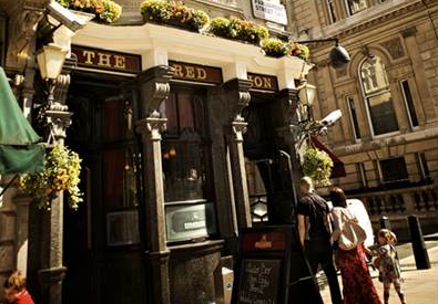 The Red Lion pub in Westminster London.