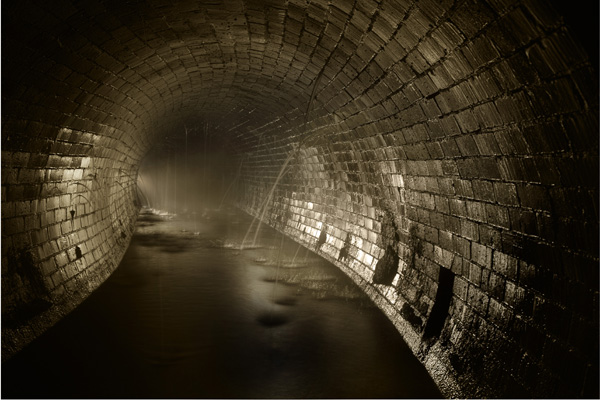 Part of a London Sewer