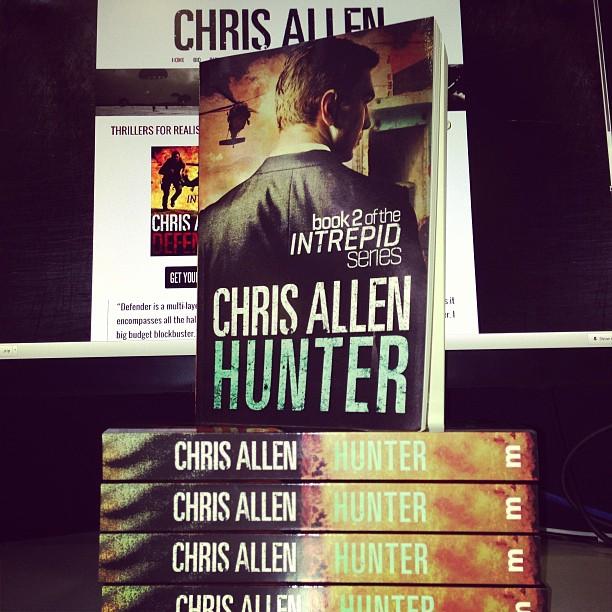 Hunter espionage thriller