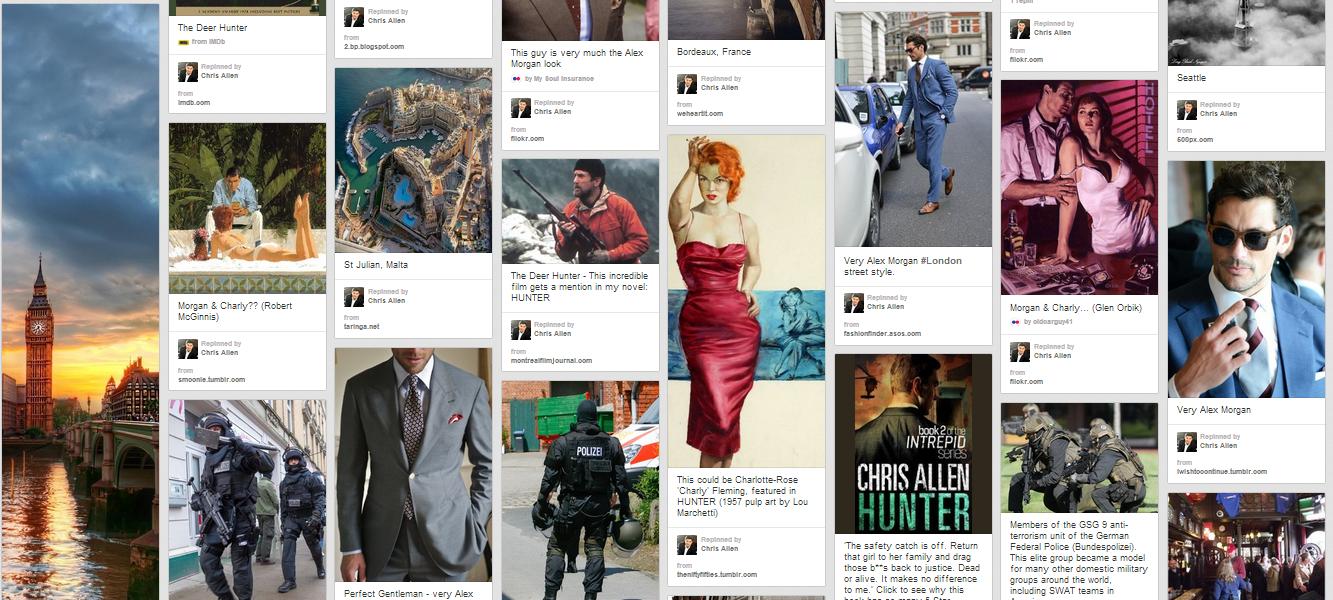 Bestselling iTunes Crime Thriller novel Hunter by Chris Allen is on Pinterest.
