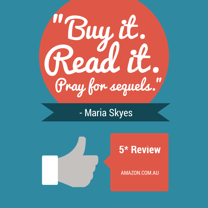 A recent review on amazon.com.au by Maria Sykes.