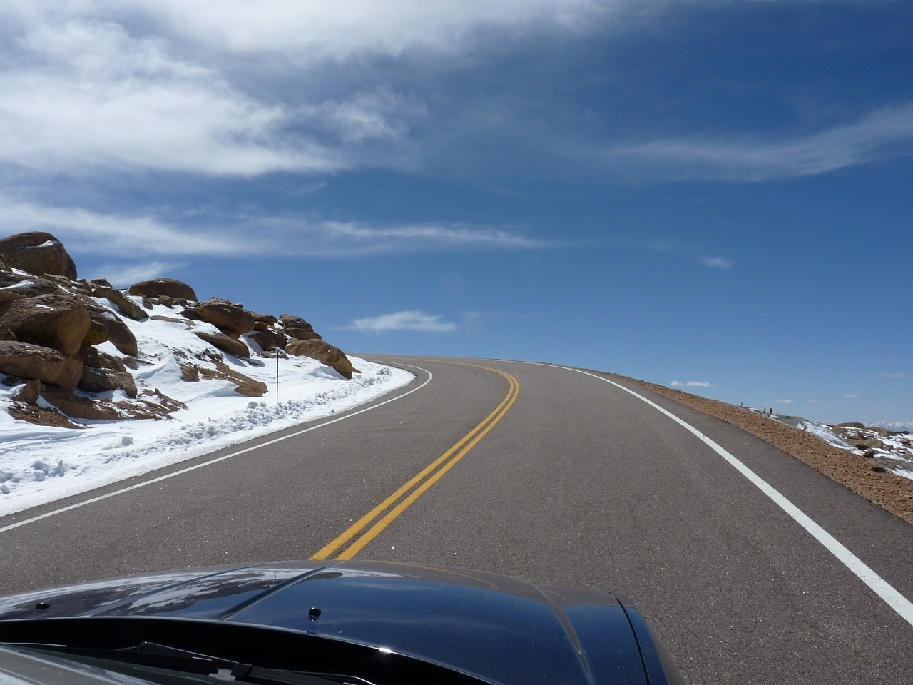 Pikes Peak Highway CO Springs