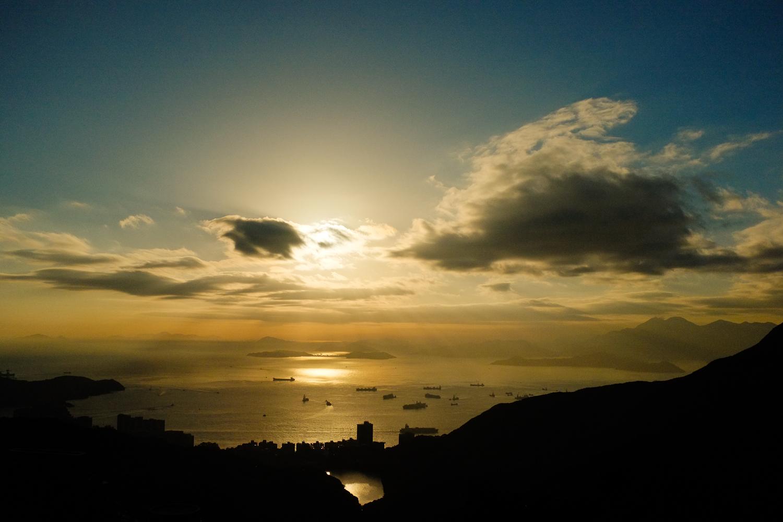 Shot from Victoria Peak in Hong Kong.