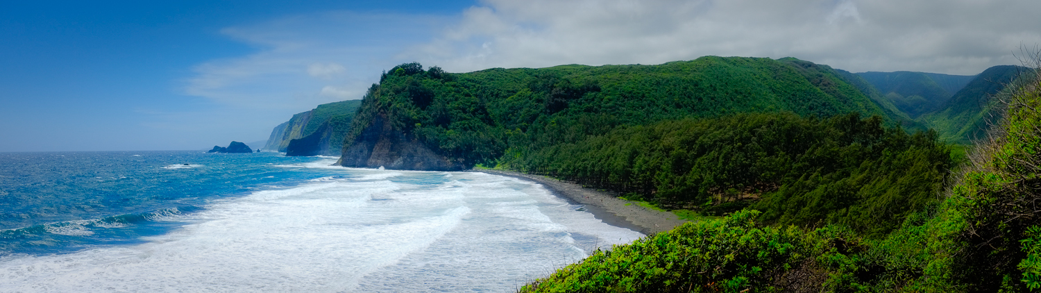 Shot on Hawaii Island using the motion panoramafeature.