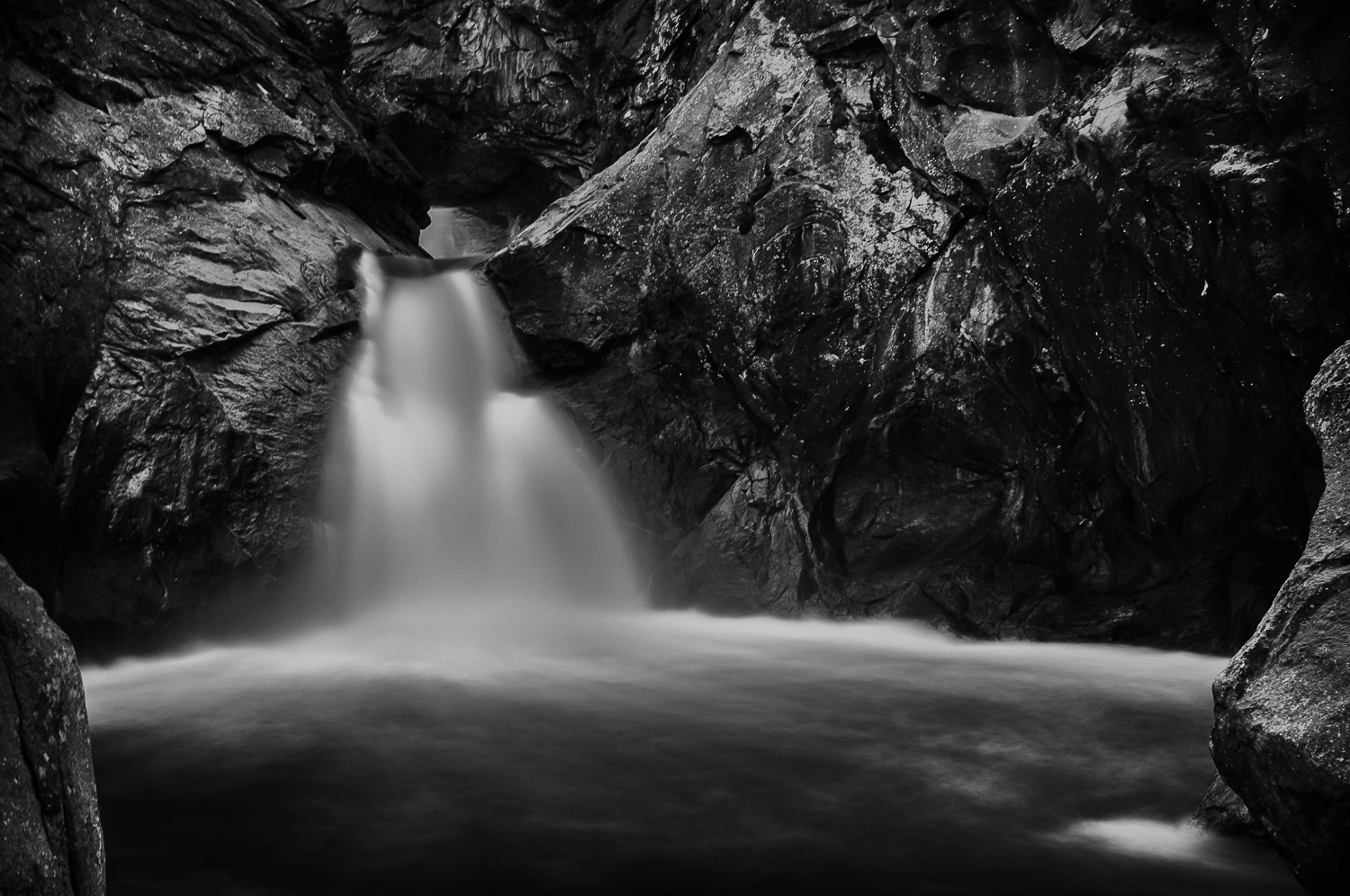Roaring River Falls - 25 seconds at f/16