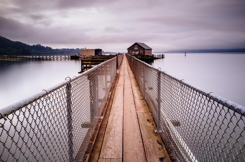 Garibaldi Fishing Pier - 45 seconds at f/16