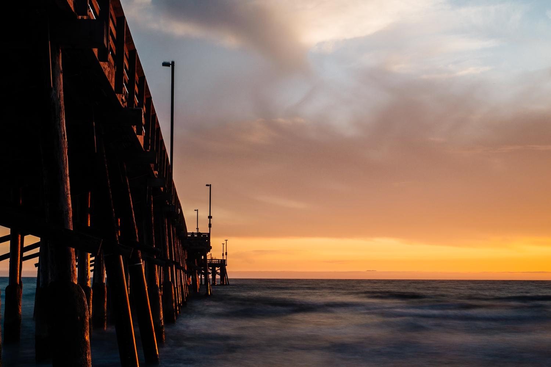 Newport Beach Pier, X-Pro1 and XF 35mm.
