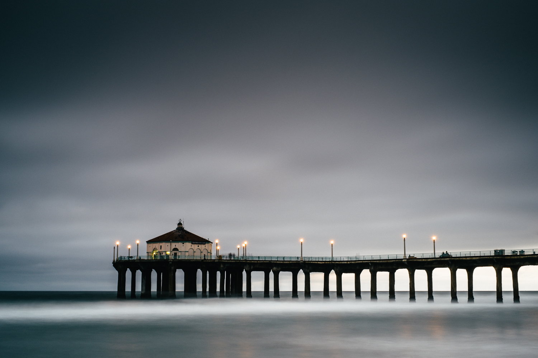 Manhattan Beach Pier, X-Pro1 and XF 35mm.