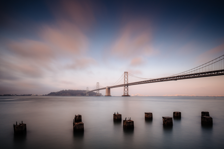 Bay Bridge, X-Pro1 and XF 14mm.