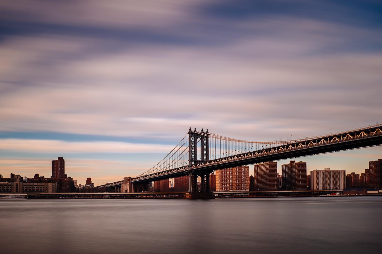 Manhattan Bridge - 58 seconds at f/11