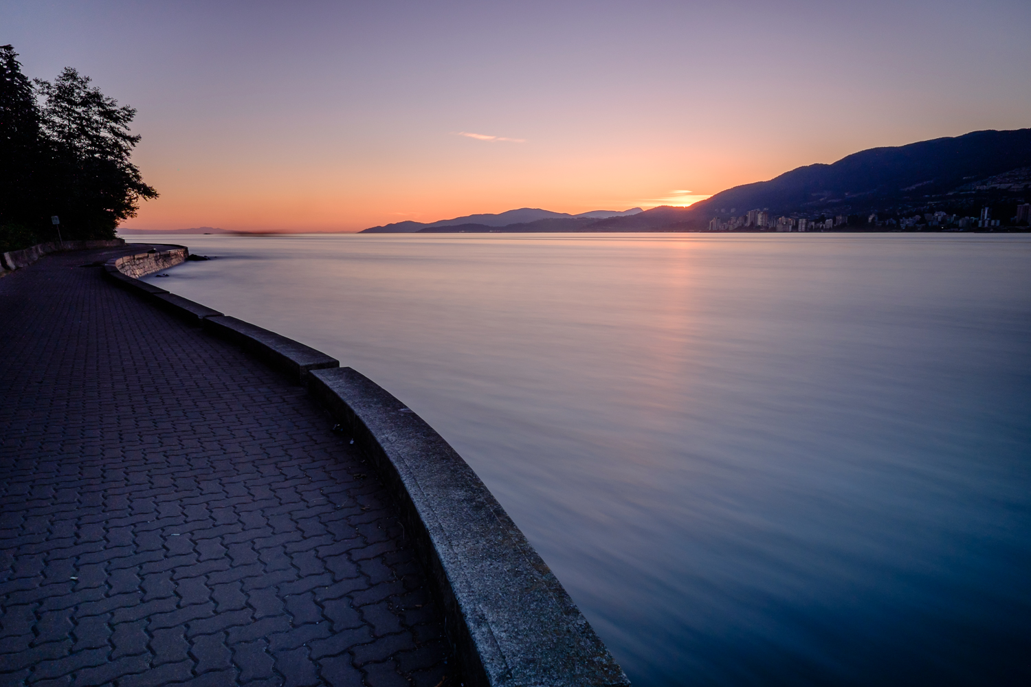 Stanley Park Seawall - 85 seconds at f/11