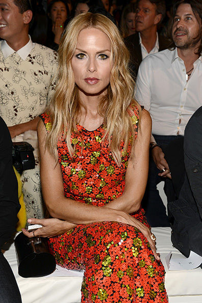 Rachel Zoe attending the Marc Jacobs Show