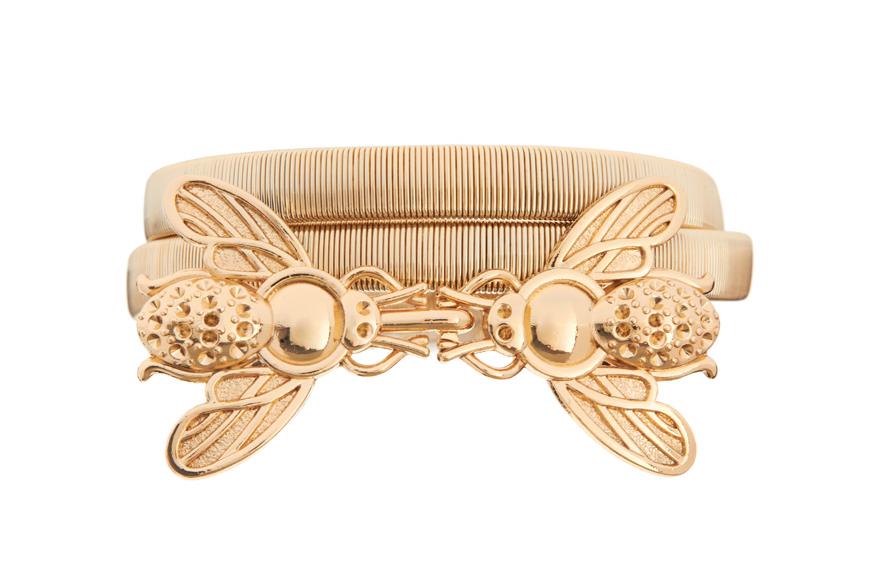 ASOS Bug Buckle Metal Waist Belt $26.29