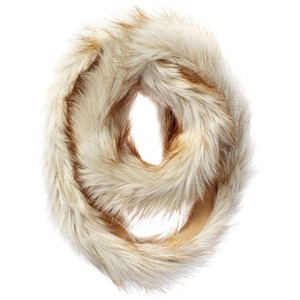 Juicy Couture Fur & Knit Infinity Scarf $59.99  Juicycouture.com
