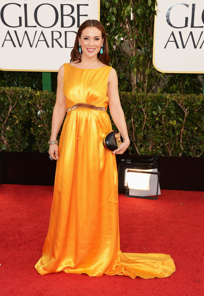 Alyssa Milano ,It was that bad I could not find the designer lol