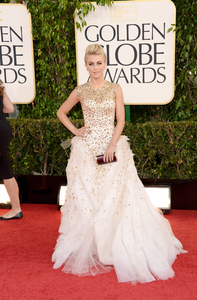 Julianne Hough Dress By Monique Lhuillier