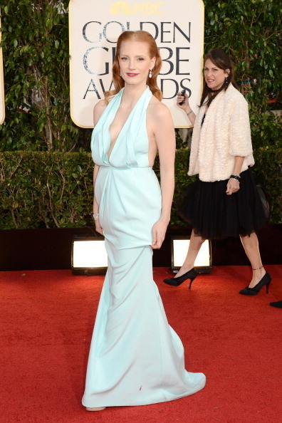Jessica Chastain Dress By Calvin Klein