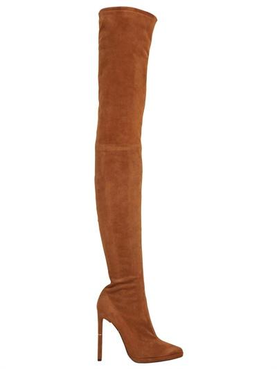 Emilio Pucci 130mm Thigh High Suede Boots $2,837  luisaviaroma.com