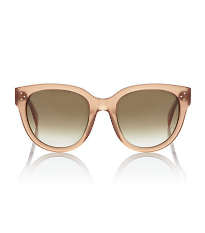 Celine Oval Sunglasses. Price:$310 HARRODS.COM