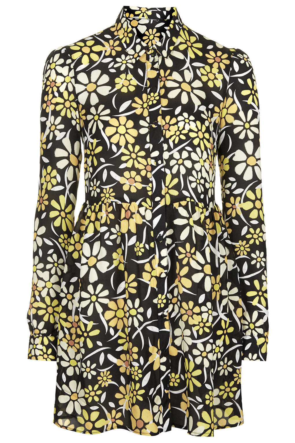 Living in New York, you have no idea how I am looking forward to spring. This Floral dress from Topshop is everything. YAS HONEY!  Daisy Print Shirt Dress  Price:  $105.00