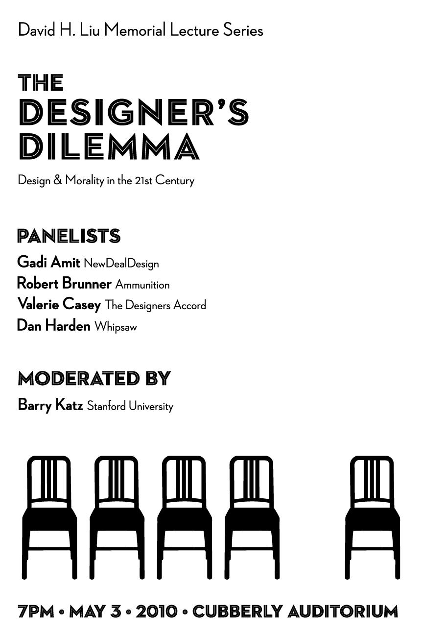 Designers Dilemma Poster