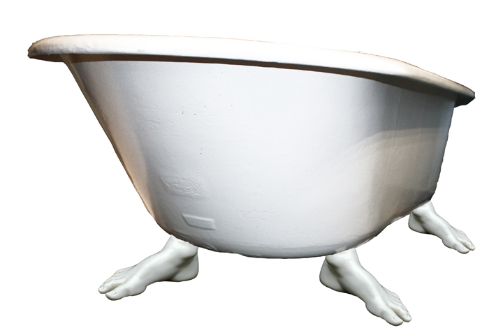 footed tub