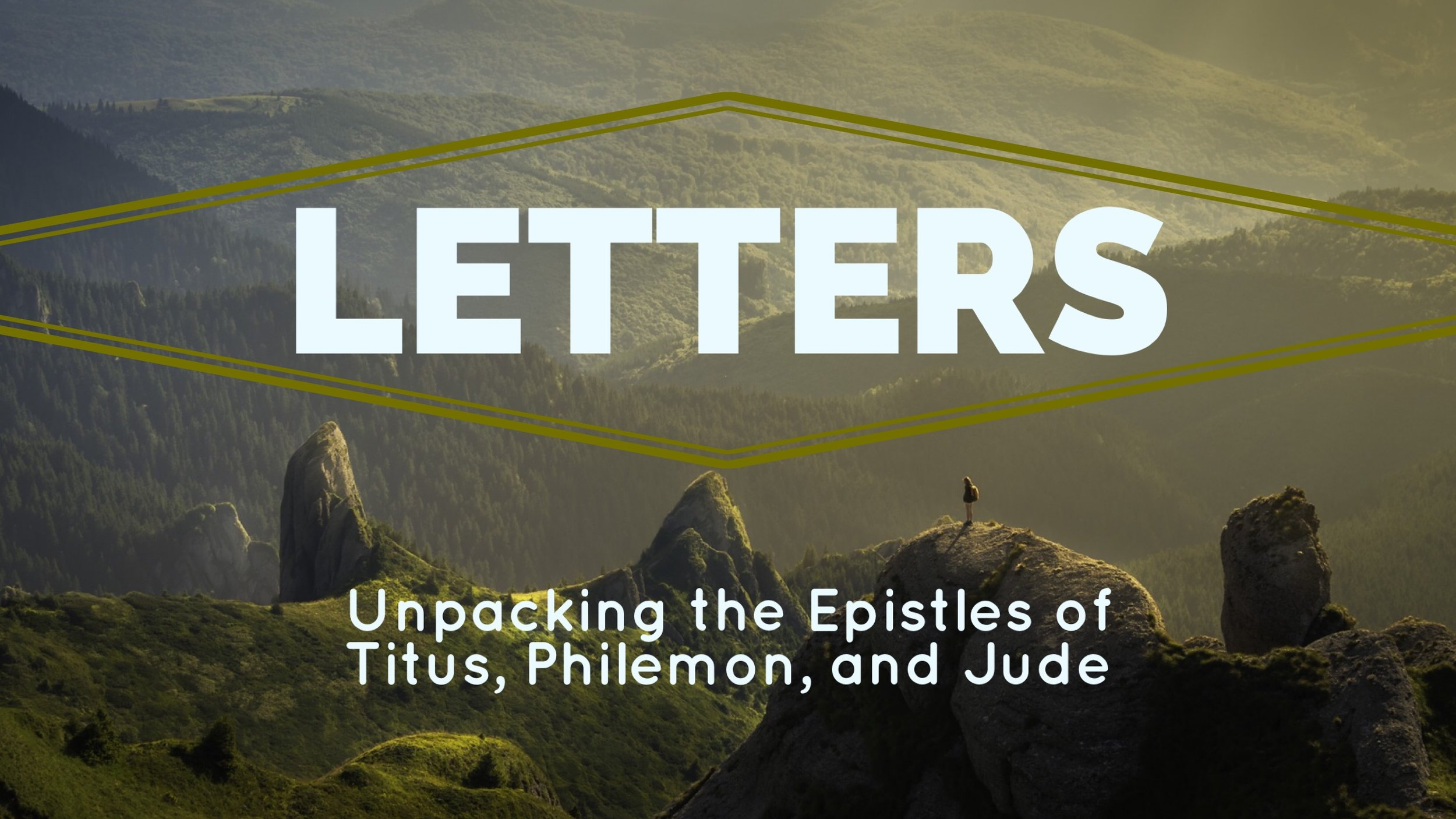 Title : Letters   Preacher: Jim Applegate   Date: July 2, 2017