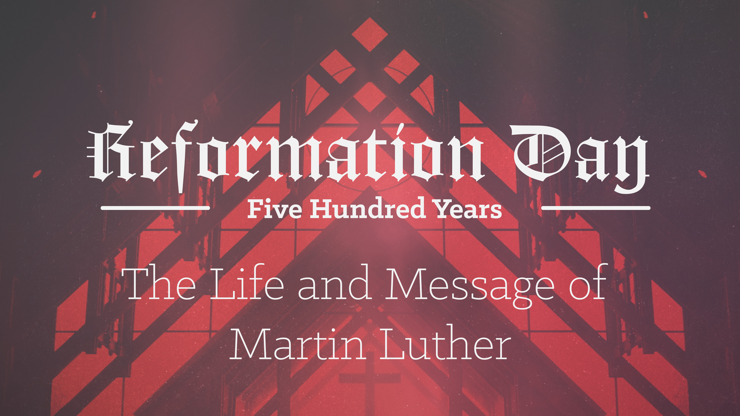 Title: The Ministry of Martin Luther   Preacher: Andy & Kendra Fletcher   Date: August 20, 2017