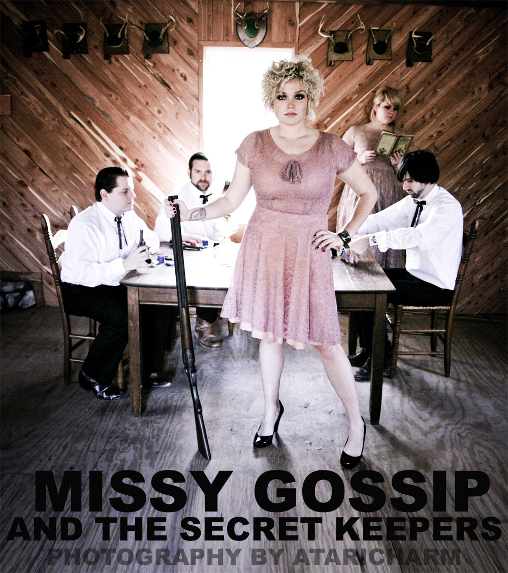 Missy Gossip and The Secret Keepers at The Lodge.