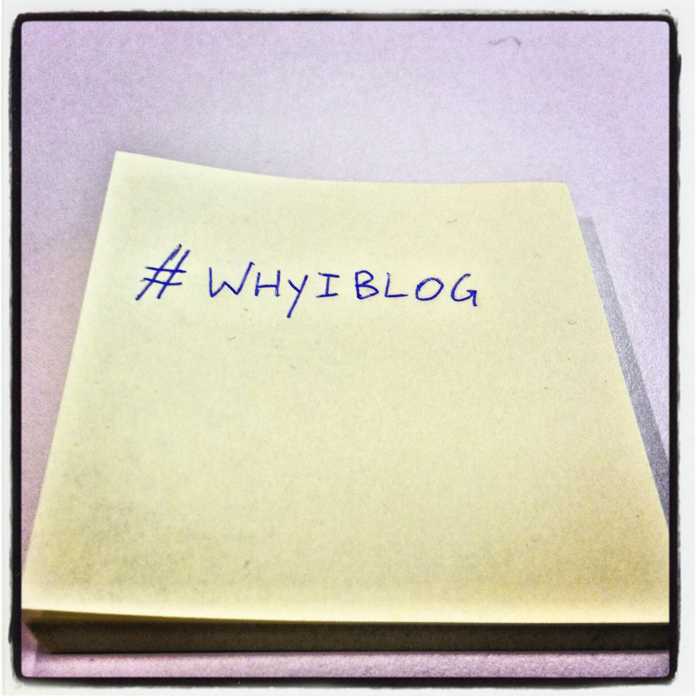 WhyIBlog