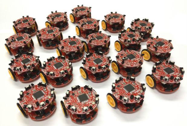 University of Lincoln Swarm Robots