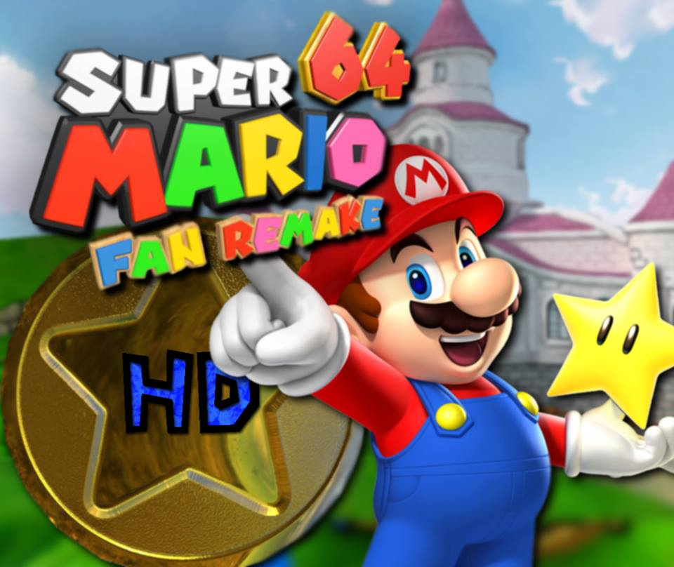 Fans Working On Super Mario 64 HD Remake | New Rising Media