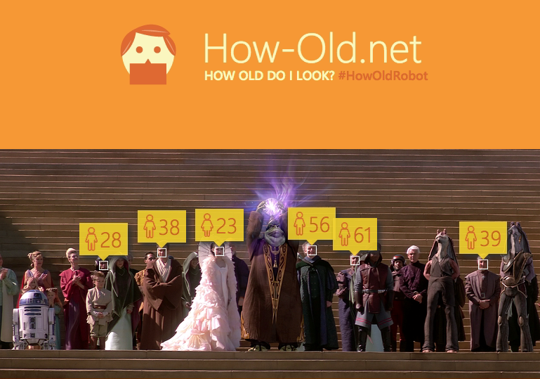Emperor Palpatine is sure keeping things in check age-wise before...well...you know.