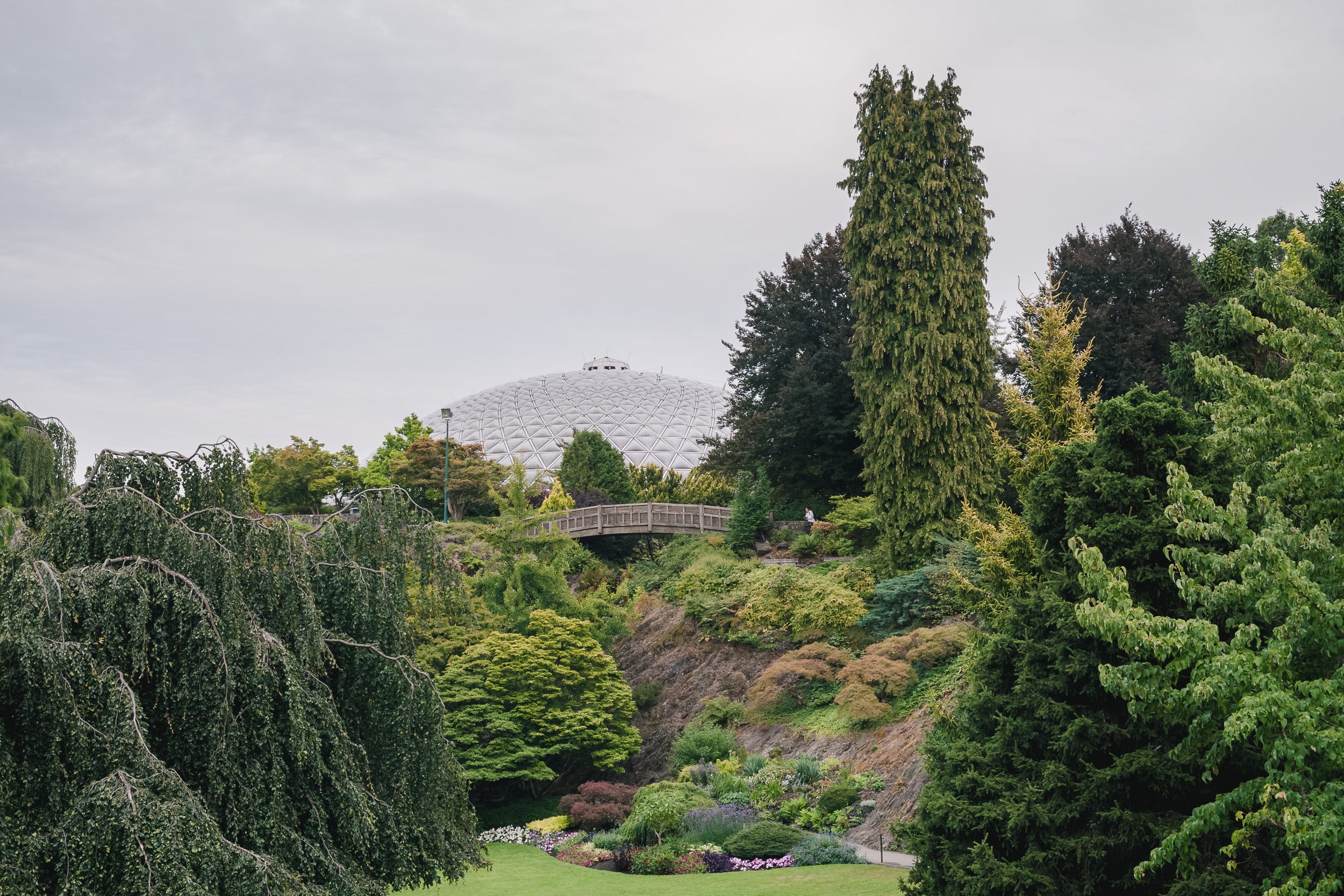 The Large Quarry Garden & Bloedel Conservatory
