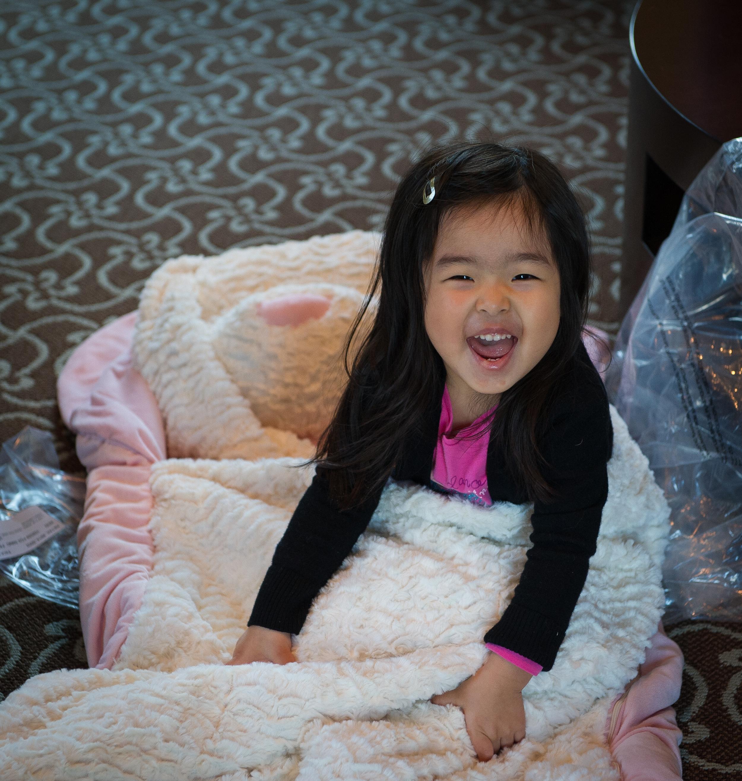 My niece Averie