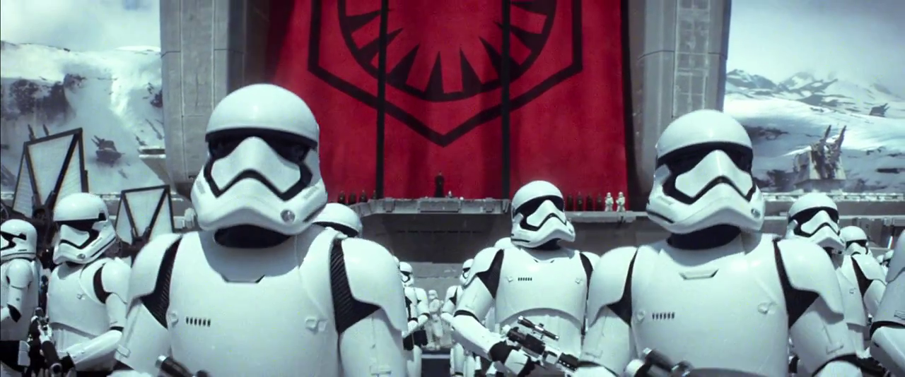 To increase merchandising revenues, the Empire has adopted these limited edition away uniforms for Stormtroopers. And is that an Apple Watch crown in the center of the Empire's new logo? Where can I order my Apple Watch Empire Edition?