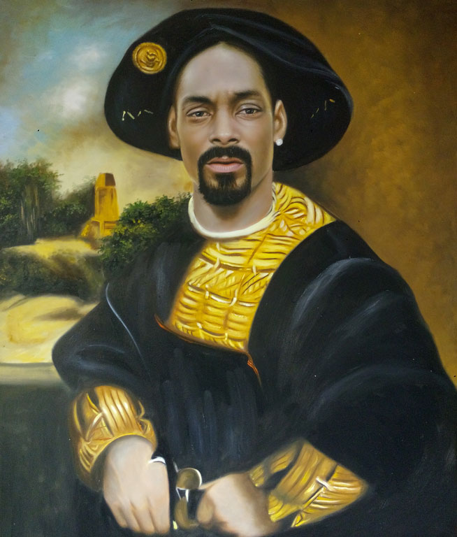 I'd like to hear Snoop find some rhymes for Medici.