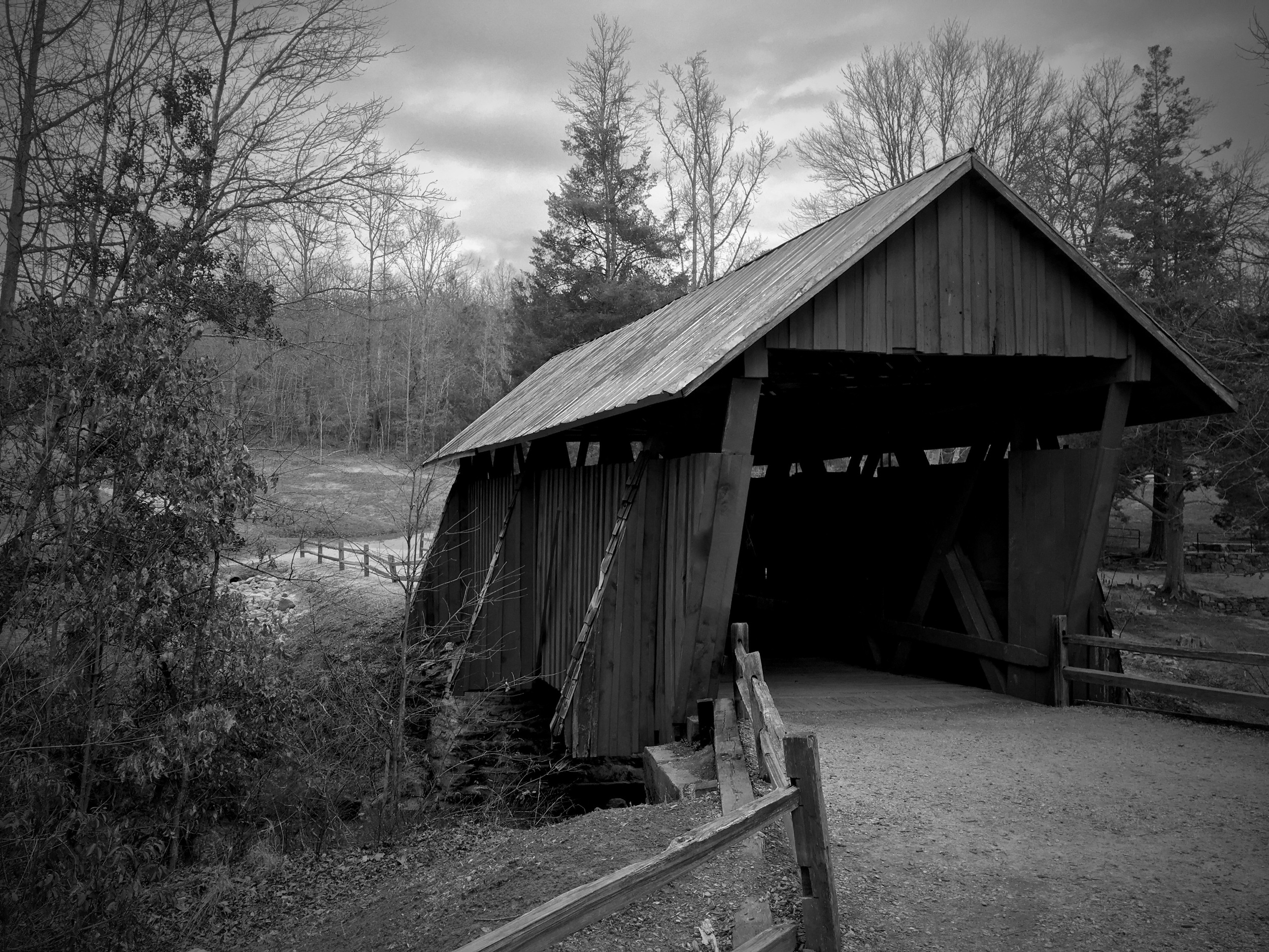 Campbell's Covered Bridge, South Carolina