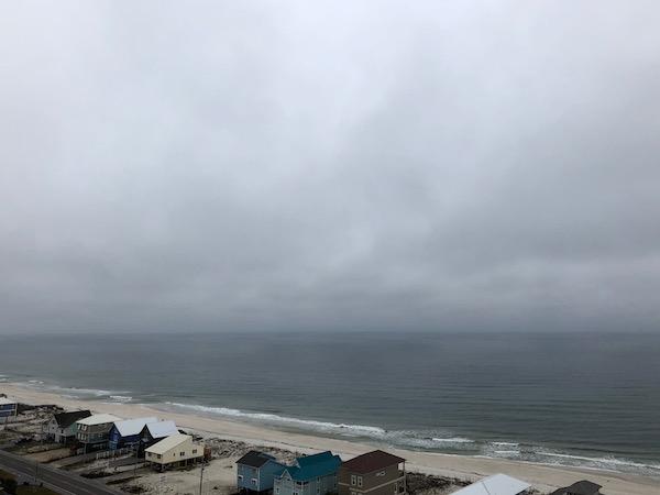 Winter Beach in Gulf Shores, AL