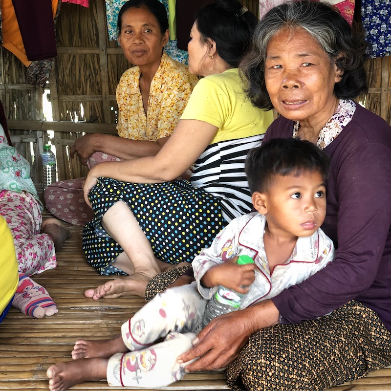 Community transformation in rural Cambodia.