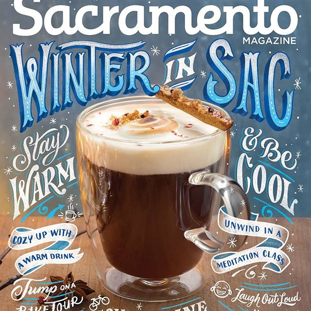 New cover work done for the January 2019 issue of @sacmag, thanks @gabrielteague for the opportunity and @shampooswan for the referral! ❄️