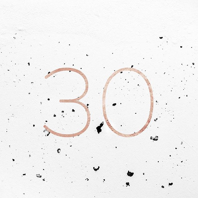 I'm 30. 😳