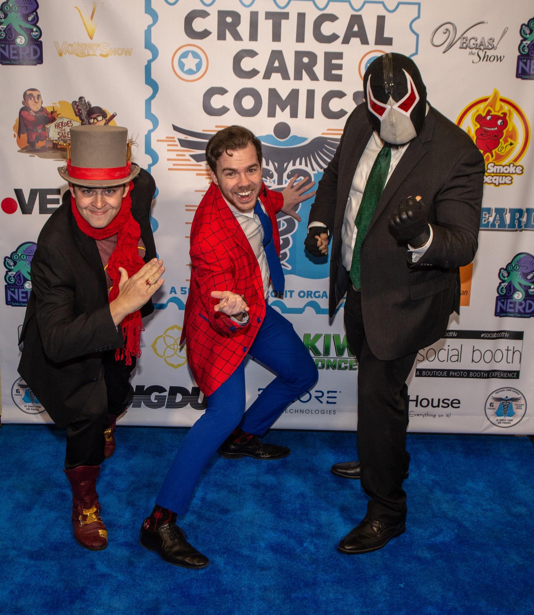Event Photography: Critical Care Comics