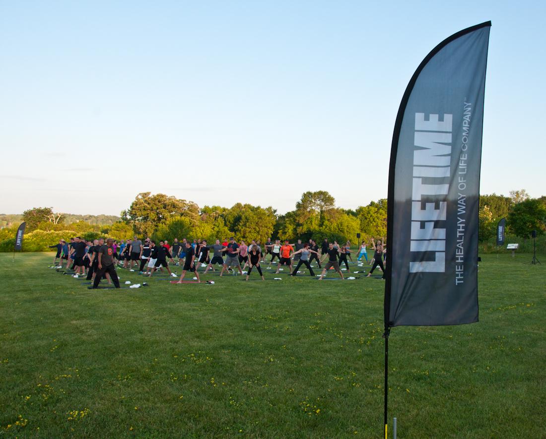 Event Photography: Sunrise Yoga