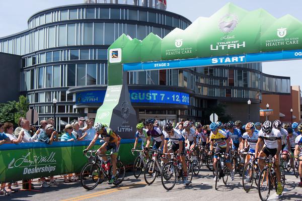 Tour of Utah - Ogden Start -   x-equals  Fuji 100C Mix
