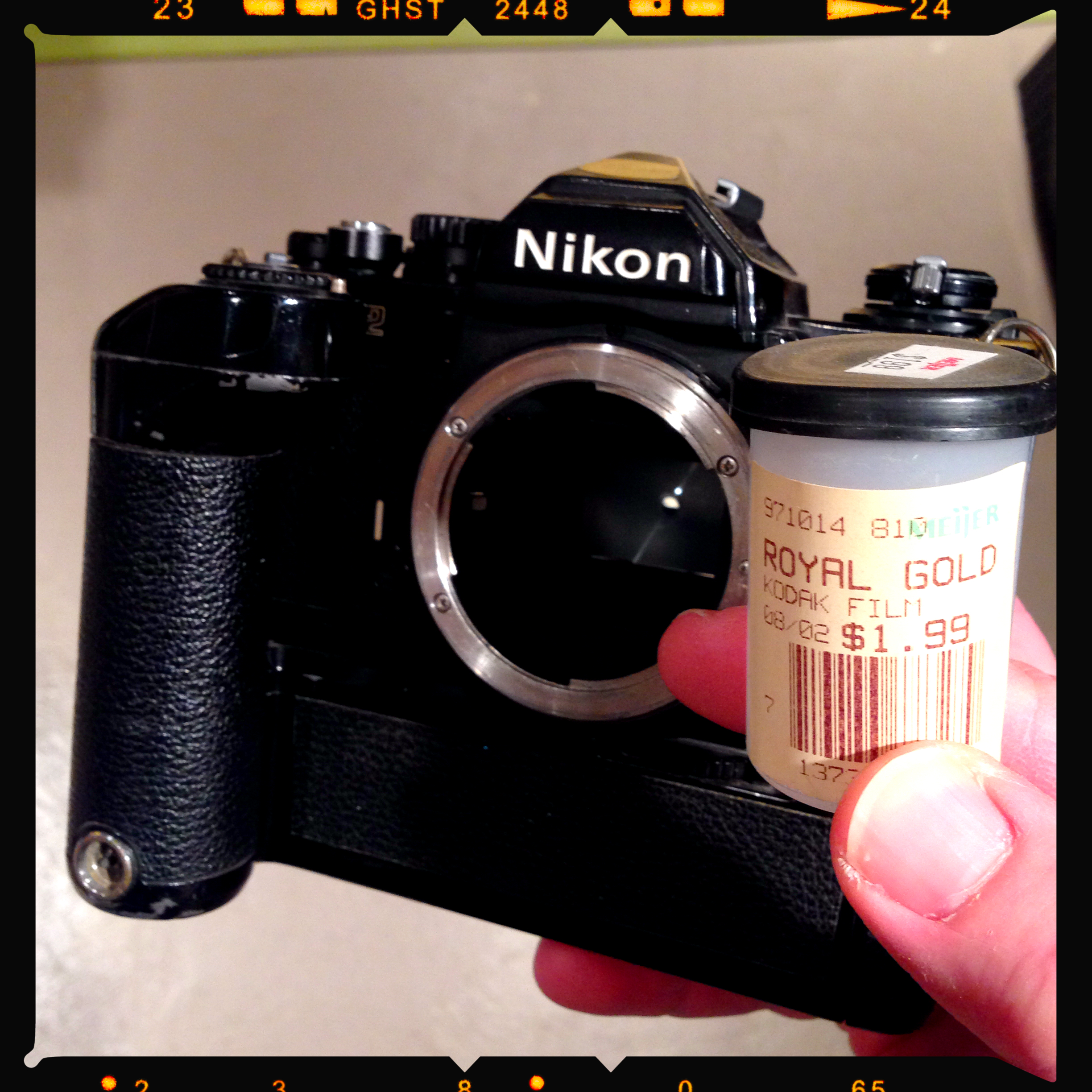 Nikon FM-2 and Kodak Royal Gold