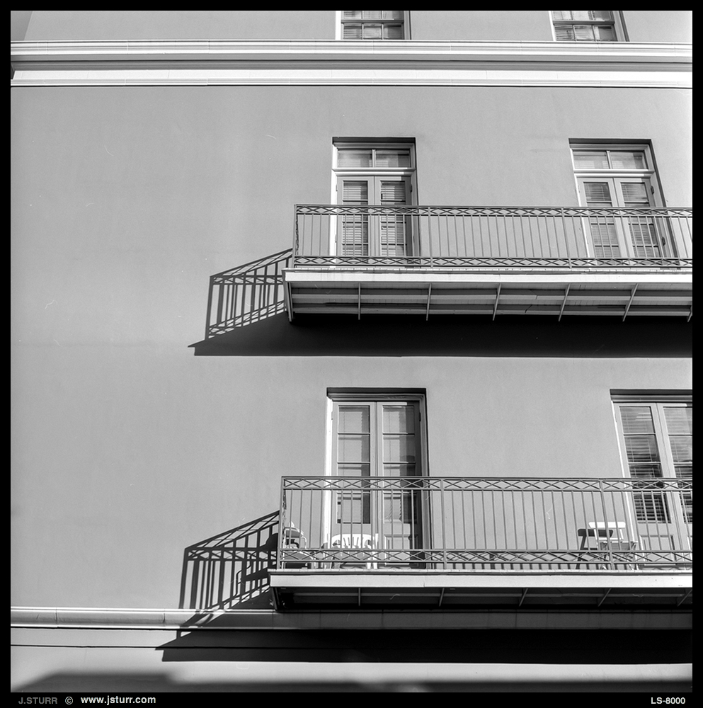 New Orleans - Rollei 6008i with Fuji Acros 100 Stand development in Rodinal